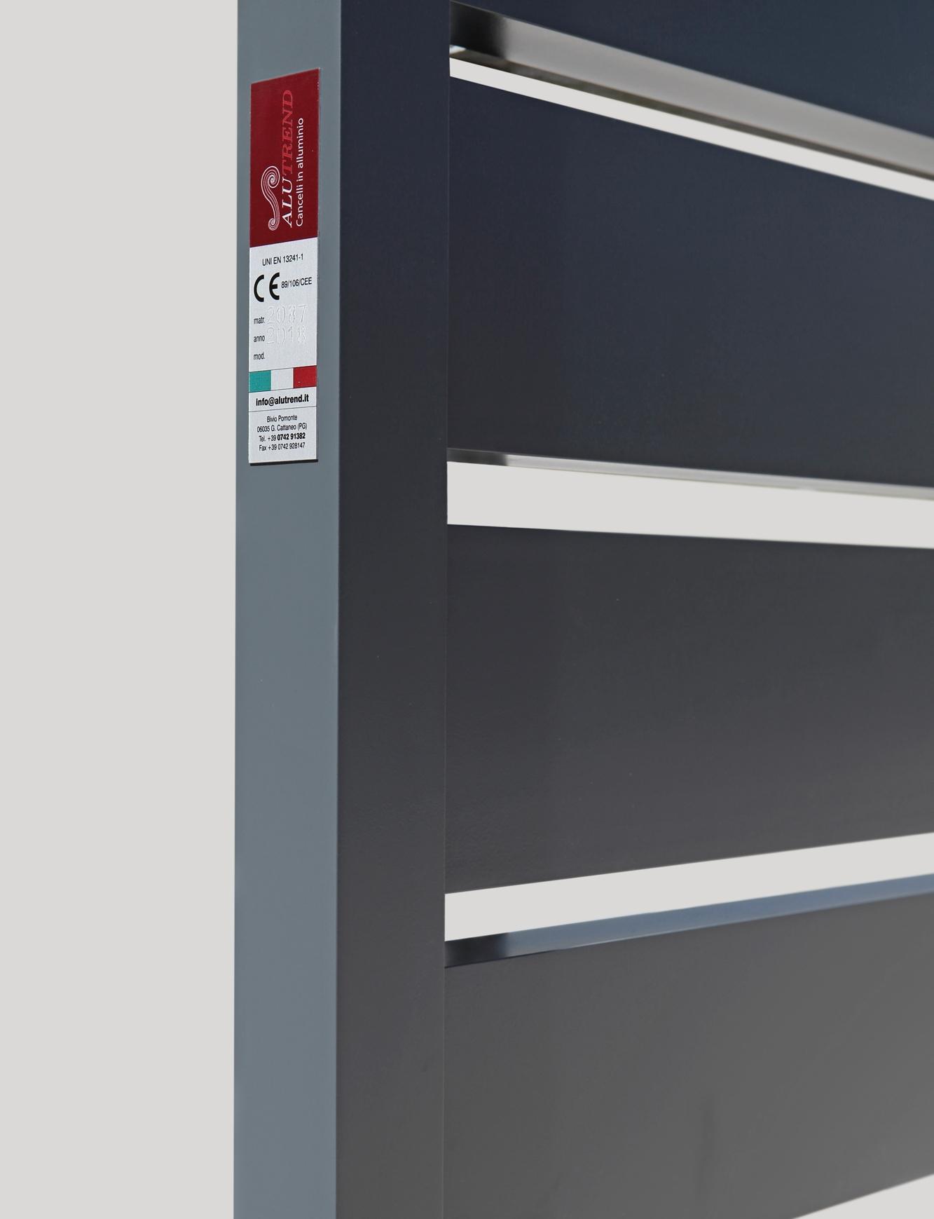 Cancelli In Alluminio Extreme Moderno Www Alutrendgates Com
