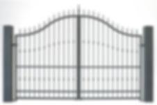 Miravalles 35680 aluminium gate Alutrend