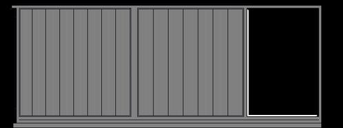 Doghe verticali scorrevole cantilever do