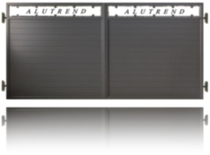 aluminium gate ALUTREND