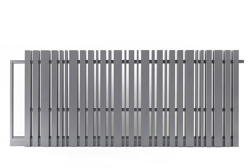 Cancello in alluminio Modello : VIVIEN