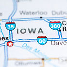 Iowa. USA on a map..jpg