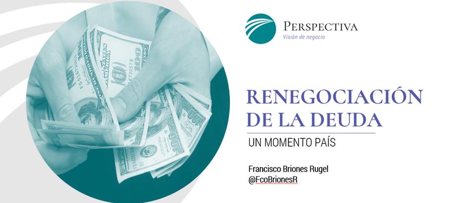 Presentación sobre la renegociación de la deuda - Debate organizado por Betamétrica