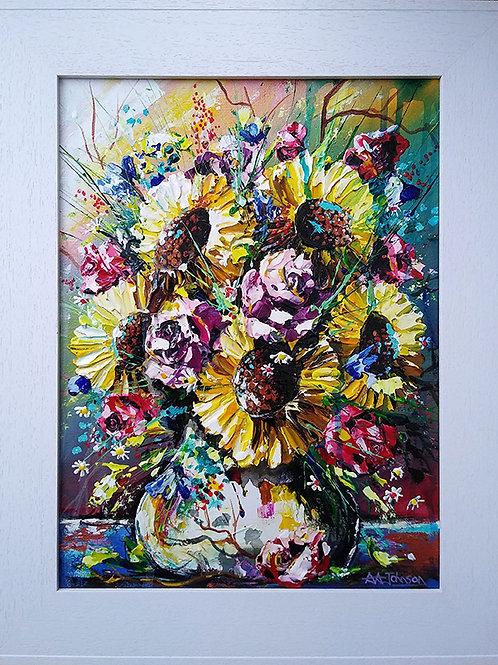 Sunflower Art - 'Bright Side'.