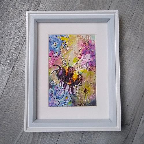 New Bumblebee & Honeybee Watercolour Collection 2