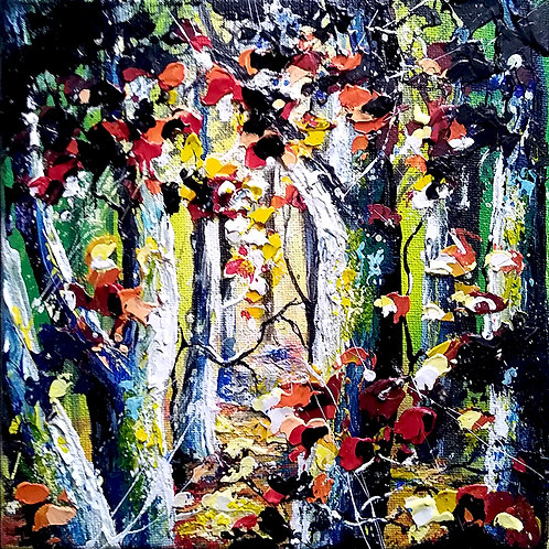 Deeper into the Forest/Sun-dappled