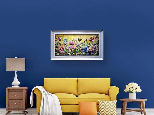 Luxurious Statement Artwork - 'Radiant Sunrise'