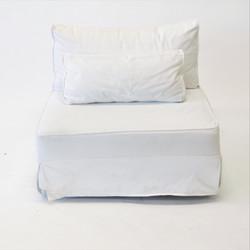 Sofá Branco Modular Sarja