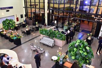 Lounge moderno na Câmara Municipal
