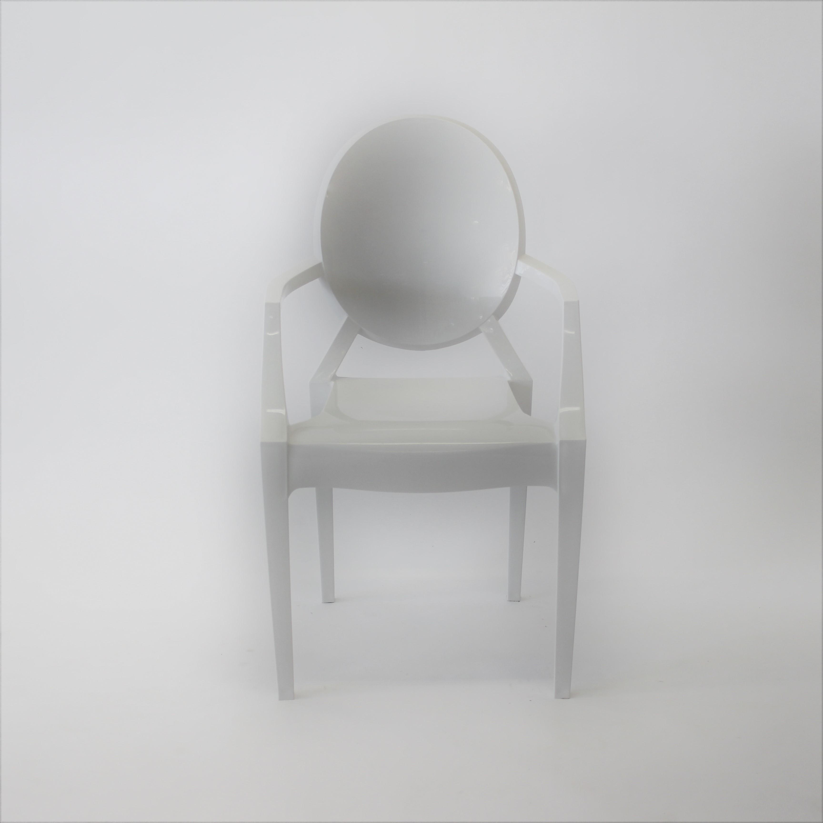Cadeira Ghost Branca