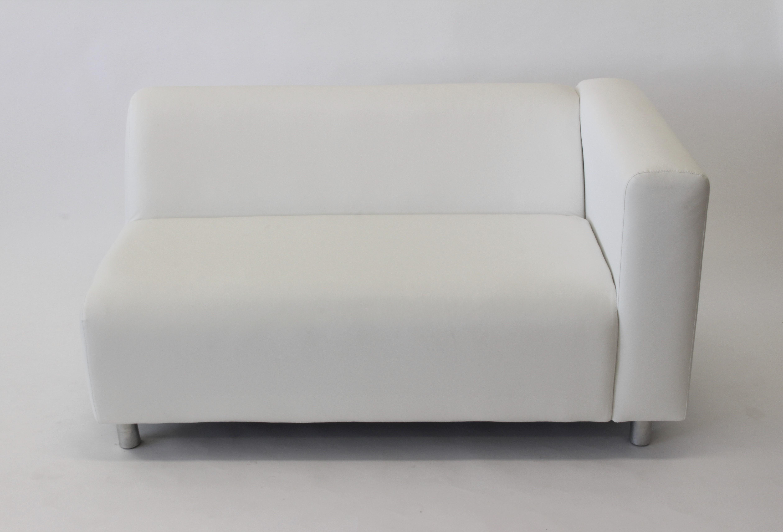 Sofá Branco Modular Corino
