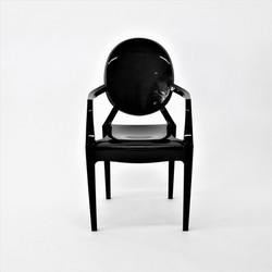 Cadeira Ghost Preta