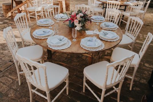 Mesa com Dior Pérola