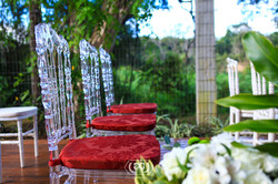 Cadeira King Royal Cristal
