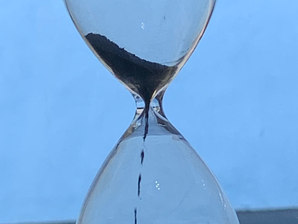 Time flowing away