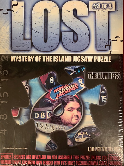 Lost - Mystery of the Island Jigsaw Puzzle #3 of 4