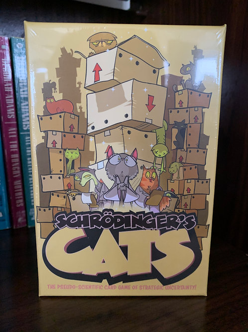 Schrodinger's Cats Boxed Card Game