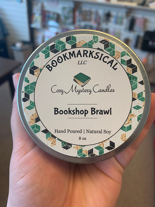 Bookshop Brawl Soy Candle