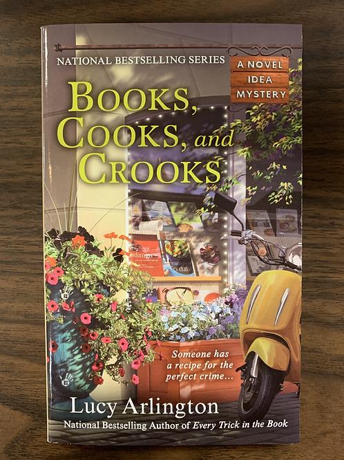 Books, Cooks, and Crooks (A Novel Idea Mystery #3)