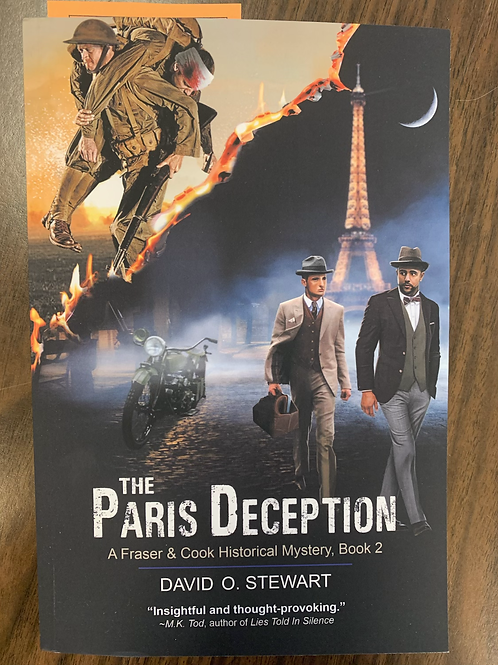 The Paris Deception - A Fraser and Cook Historical Mystery # 2