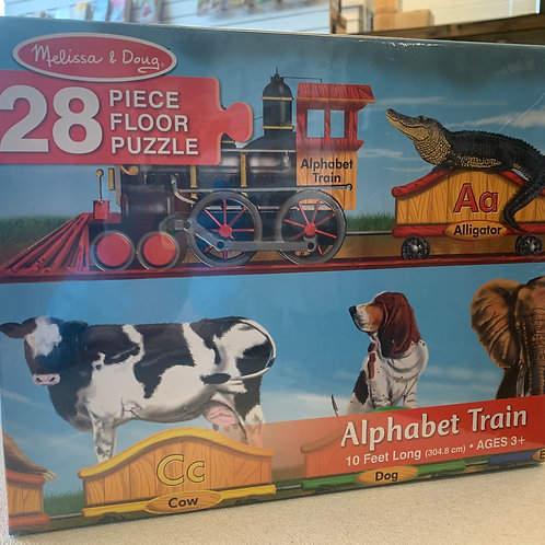 Melissa and Doug Alphabet Train Puzzle
