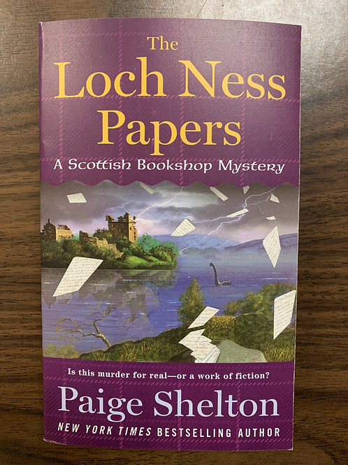The Loch Ness Papers - A Scottish Bookshop Mystery #4
