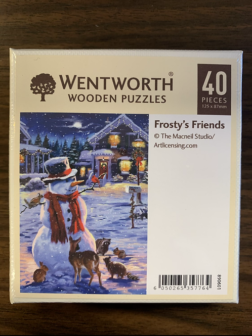 Frosty's Friends Wooden Puzzle