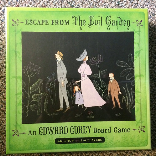 Escape from The Evil Garden Edward Gorey Board Game