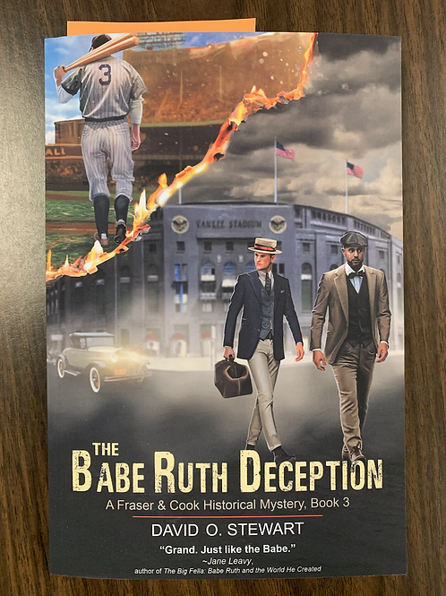 The Babe Ruth Deception - A Fraser and Cook Historical Mystery #3