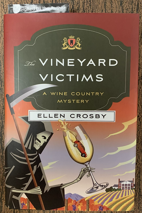 The Vineyard Victims - A Wine Country Mystery #8