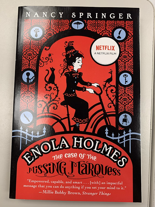 Enola Holmes and the Case of the Missing Marquess - Enola Holmes Book #1
