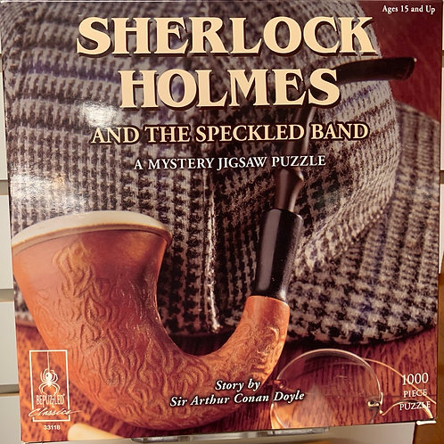 Sherlock Holmes and the Speckled Band Jigsaw Puzzle