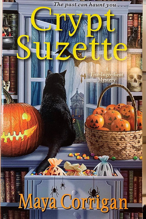 Crypt Suzette (A Five-Ingredient Mystery Book #6)