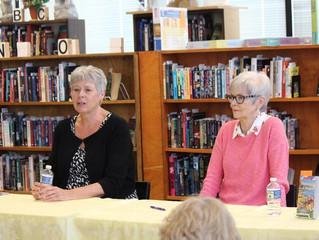 Visit with Vicki Delany and Linda Wiken