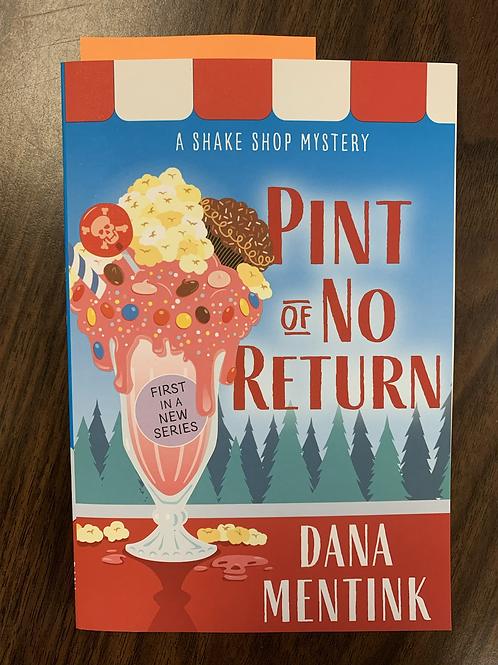 Pint of No Return - A Shake Shop Mystery #1