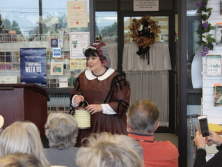 Author Visit with Christine Trent
