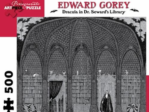 Edward Gorey – Dracula in Dr. Seward's Library