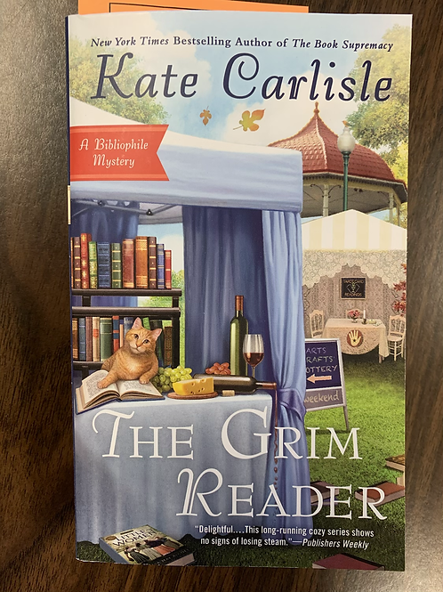 The Grim Reader - A Bibliophile Mystery #14
