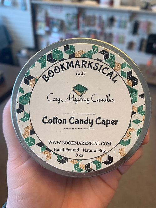 Cotton Candy Caper Soy Candle