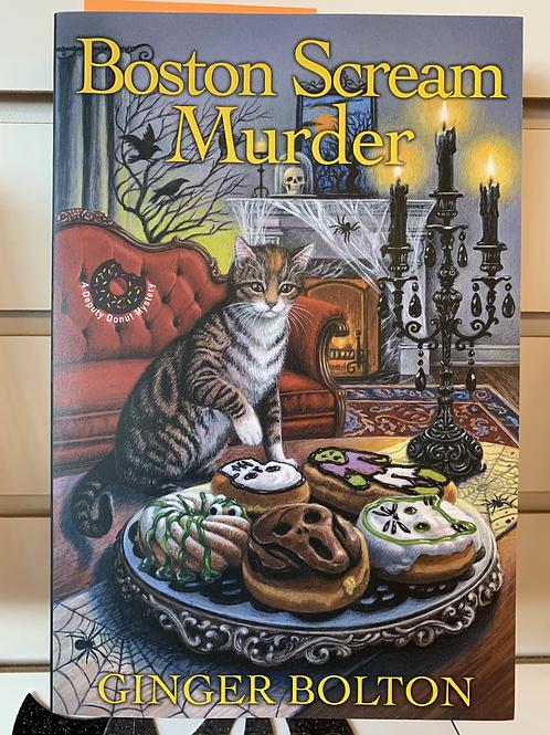 Boston Scream Murder (A Deputy Donut Mystery Book #4)