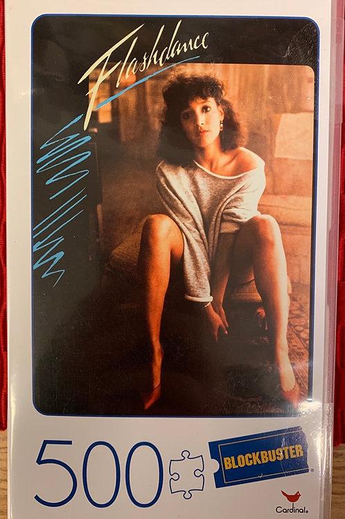 Flashdance VHS Cassette Case Jigsaw Puzzle