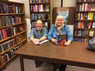 Author Vicki Delany's Visit