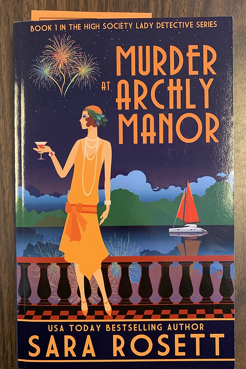 Murder at Archly Manor - High Society Lady Detective Book #1