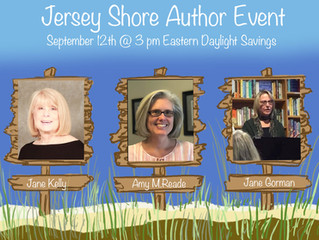 Jersey Shore Author Zoom Event