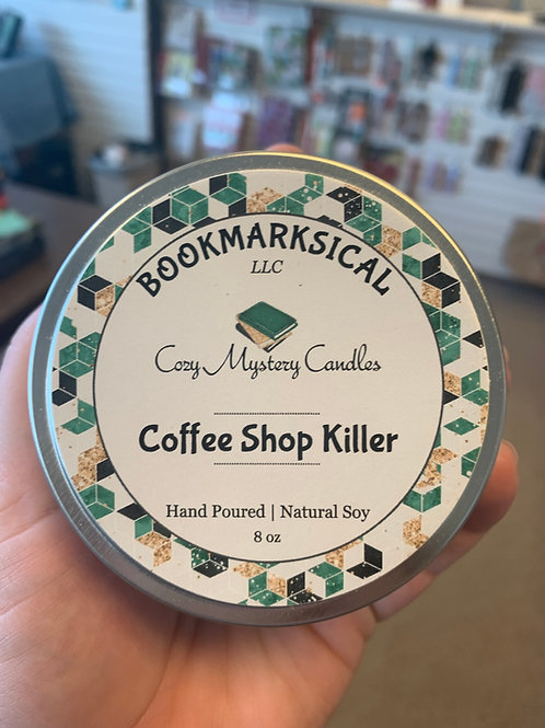 Coffee Shop Killer Soy Candle