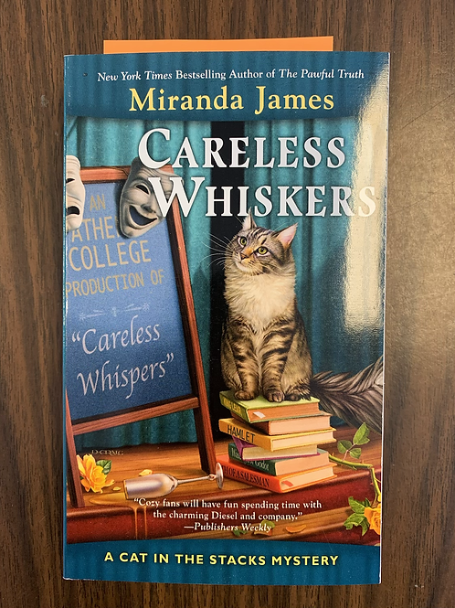 Careless Whiskers - Cat in the Stacks #12