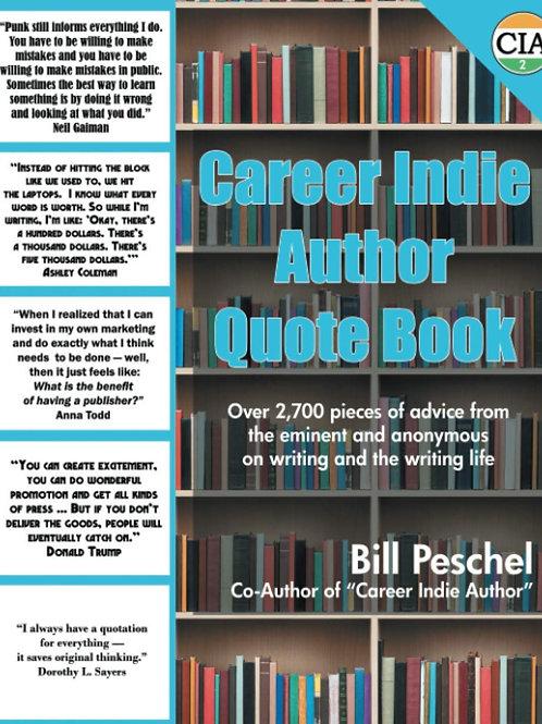 Career Indie Author Quote Book