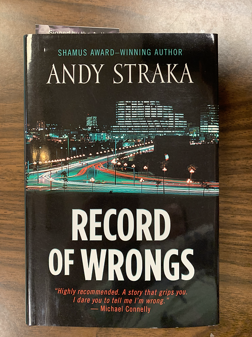 Record of Wrongs: Five Star Mystery Series