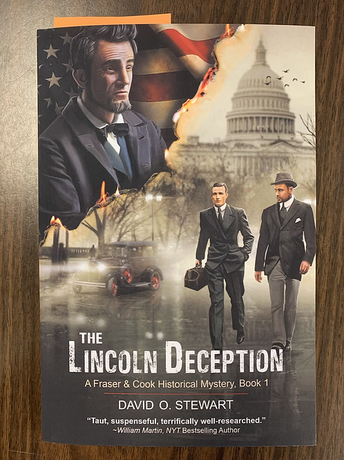 The Lincoln Deception - A Fraser and Cook Historical Mystery #1