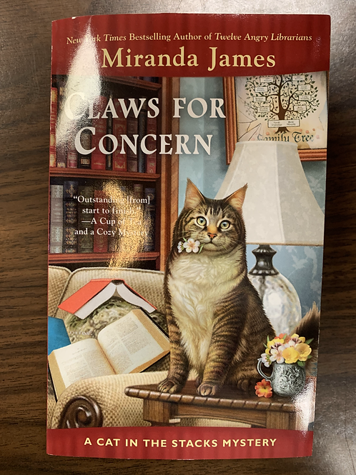 Claws for Concern: Cat in the Stacks Mystery #9